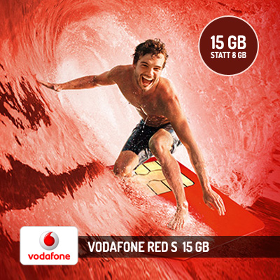 Vodafone Vodafone Red S - 15 GB